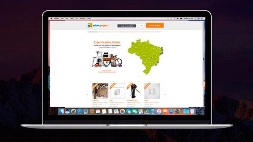 achoupegou.com.br um site desenvolvido por SENI web design & publicidade