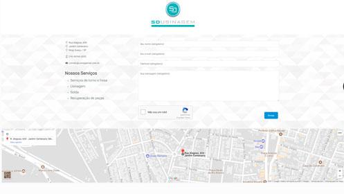 usinagemsd.com.br um site desenvolvido por SENI web design & publicidade