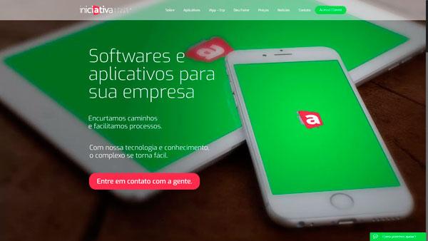 iniciativaaplicativos.com.br um site desenvolvido por SENI web design & publicidade