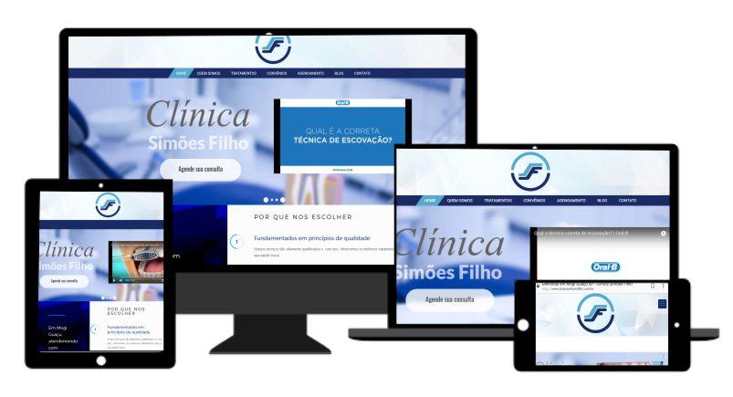 Desenvolvimento de Site Responsivo em Mogi Guaçu para clinica de Odontologia