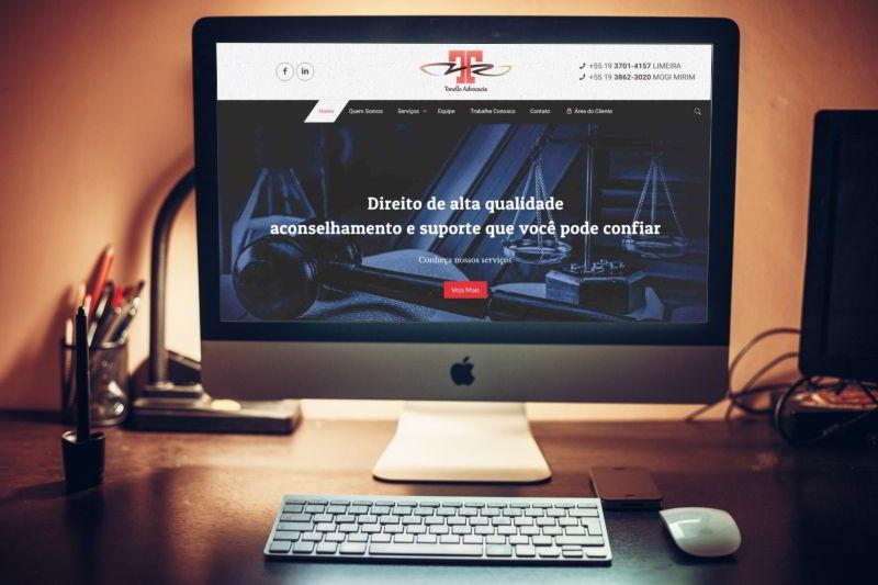 Desenvolvimento de site em Limeira para o escritório de advocacia Tonello Advocacia