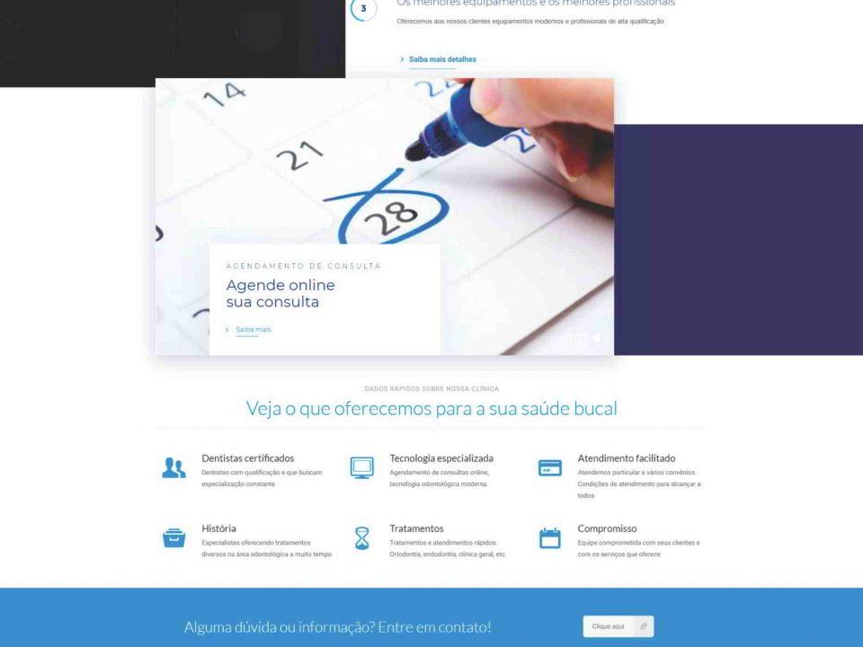 Desenvolvimento de site em Mogi Guaçu para a Clinica de Odontologia Simões Filho, Dentistas na cidade de Mogi Guaçu